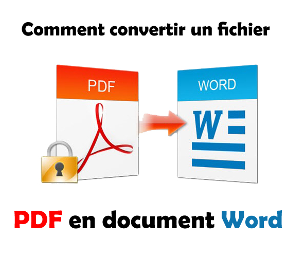 Comment convertir un fichier PDF en document Word