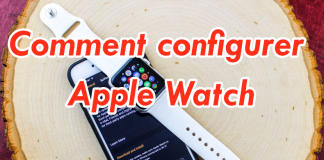 Comment configurer Apple Watch