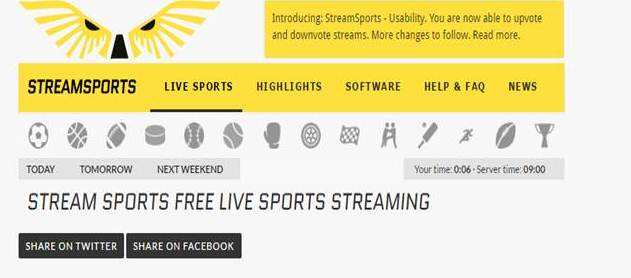 sites de sport en streaming gratuit