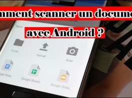 Comment scanner un document avec Android