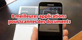 8 meilleures applications pour scanner des documents