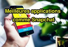 Meilleures applications comme Snapchat